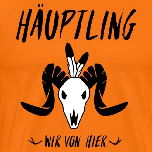 Haeuptling - Männer Premium T-Shirt
