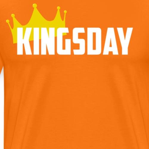 Koningsdag Shirt - Mannen Premium T-shirt