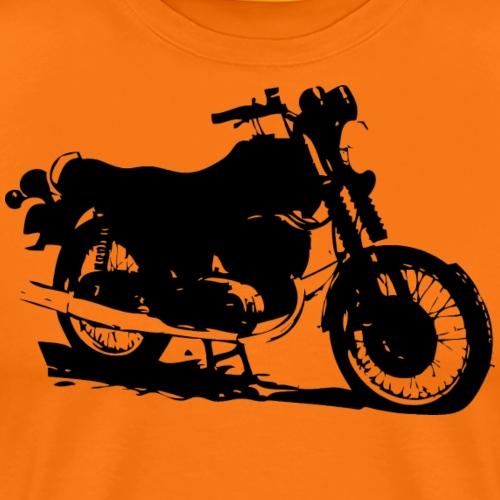 MZ ETZ 250 schräg - Männer Premium T-Shirt