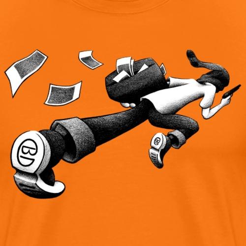 Banküberfall - Take the money and run ! - Männer Premium T-Shirt