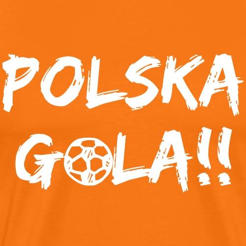 Polska Gola!! - Mannen Premium T-shirt