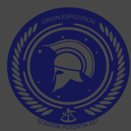 Orion Exploration Logo - Männer Premium T-Shirt