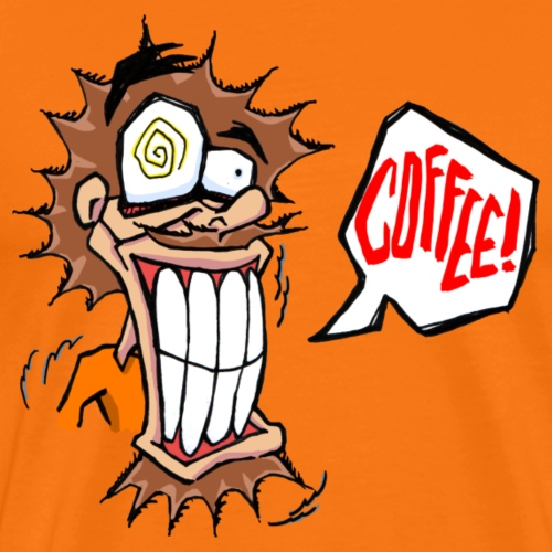 Cofffeee!!! Vater - Männer Premium T-Shirt