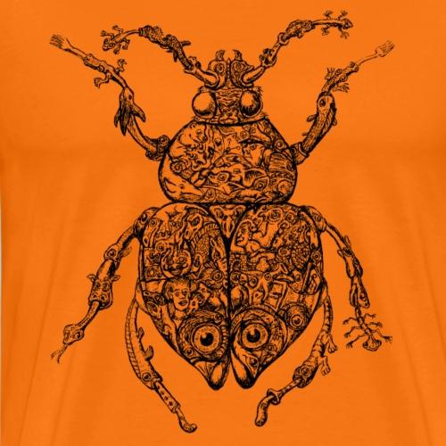 Sammelsuriumkäfer - Vexierbild - Männer Premium T-Shirt