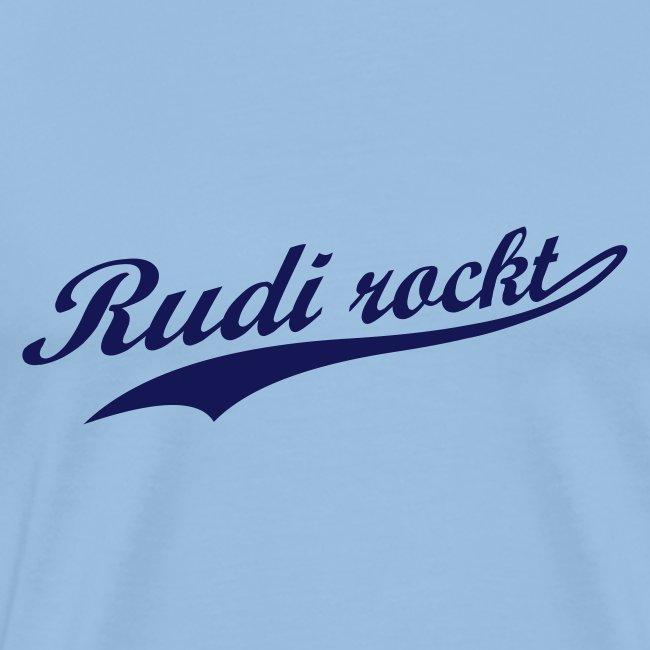 Rudi rockt Logo