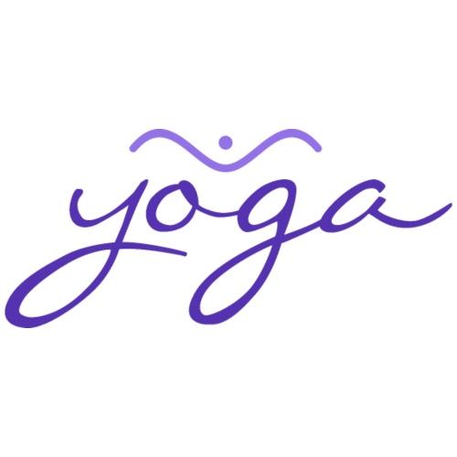 Yoga Balancing Typography And Emblem 3 - Männer Premium T-Shirt