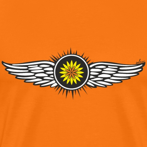 SOLRAC Wings - Camiseta premium hombre
