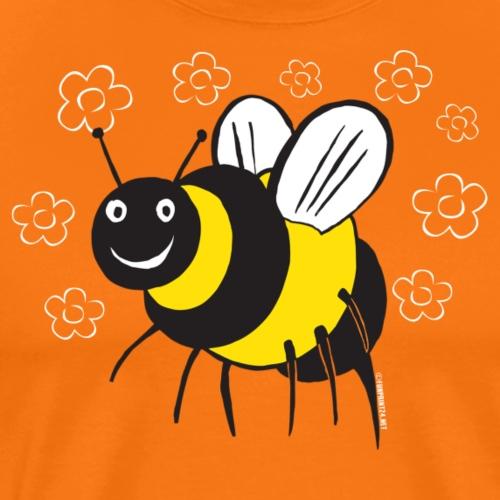 10-1E BEE, MEHILÄINEN Textiles and Gifts - Miesten premium t-paita