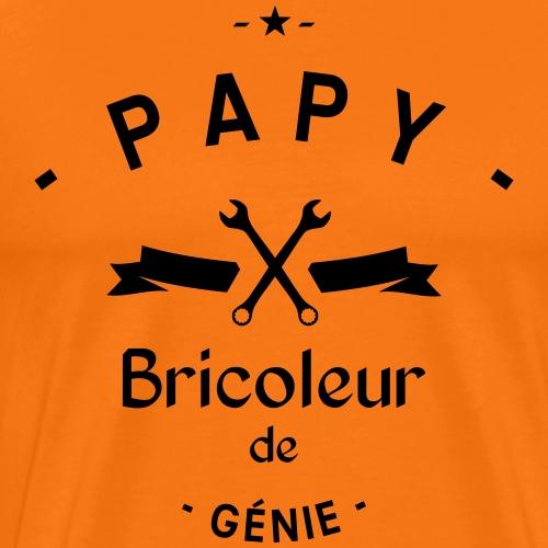 Papy bricoleur de genie - T-shirt Premium Homme