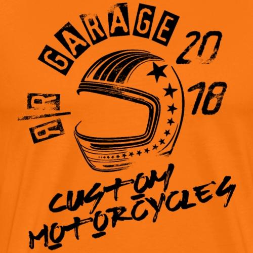 RR Garage Custom Motorcycles - Maglietta Premium da uomo