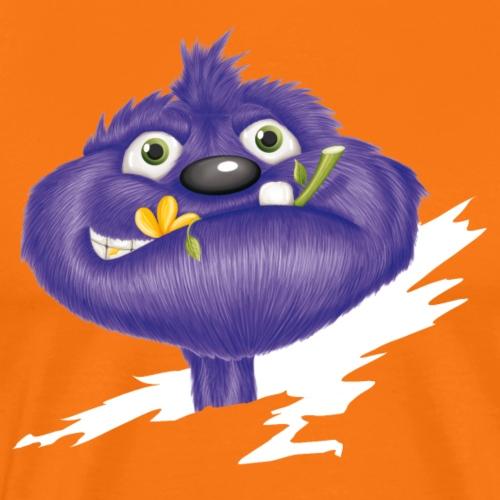 das lila Monster - Männer Premium T-Shirt