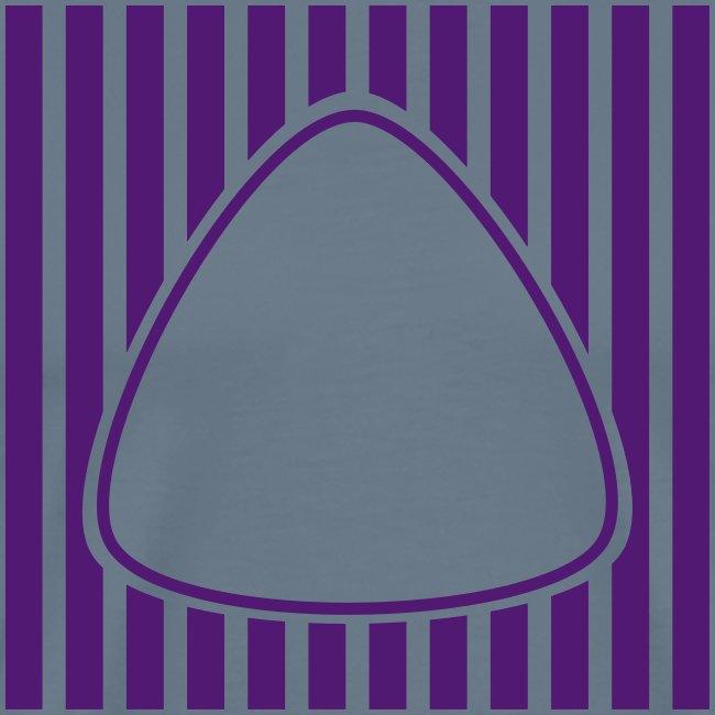 PLEKTRON Streifen Button
