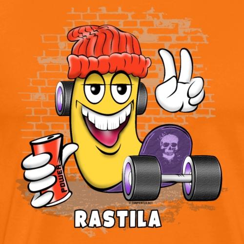 RASTILA SKATE 1 - Skateboard Helsinki - Miesten premium t-paita
