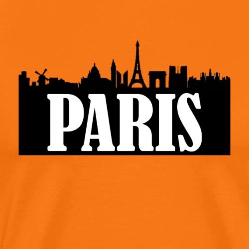 Paris Skyline - Maglietta Premium da uomo