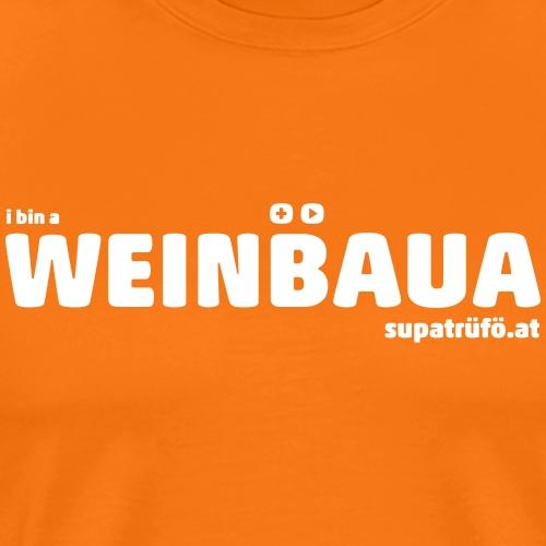 WEINBAUA - Männer Premium T-Shirt