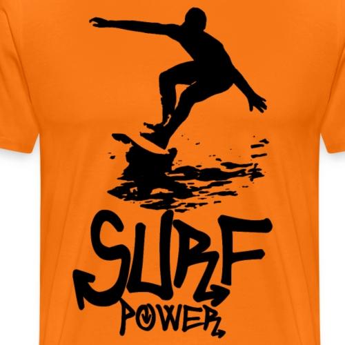 Surf power - T-shirt Premium Homme