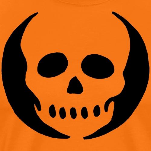 Halloween Kürbis Totenkopf Dia De Los Muertos - Männer Premium T-Shirt