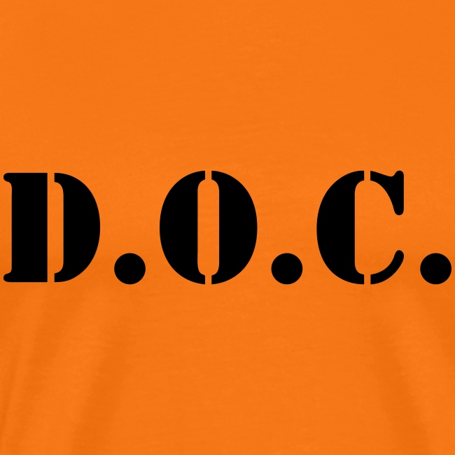 Department of Corrections (D.O.C.) 2 back