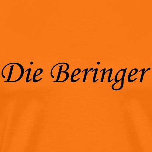 Beringer Schriftzug - Männer Premium T-Shirt