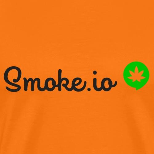 SMOKE IO logo ohne Hintergrund. - Männer Premium T-Shirt