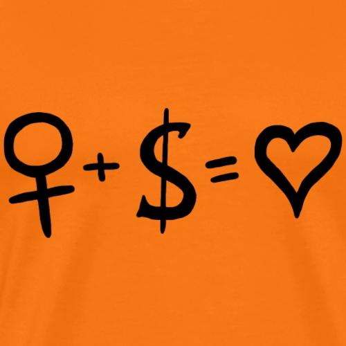 Feminism Loves Capitalism - Premium-T-shirt herr