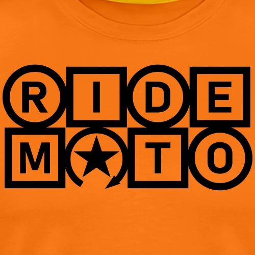 jeździć moto - Koszulka męska Premium