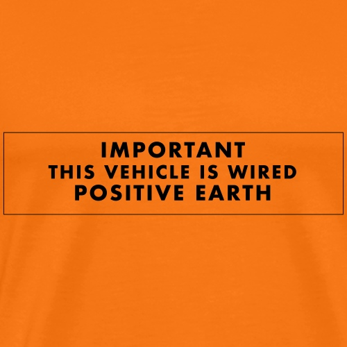 Wired Positive Earth - T-shirt Premium Homme