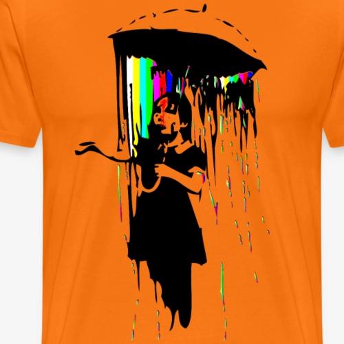 rainy days - Männer Premium T-Shirt