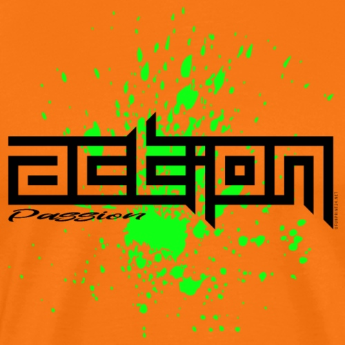 ACTION PASSION cool textiles, gifts for everyone - Miesten premium t-paita