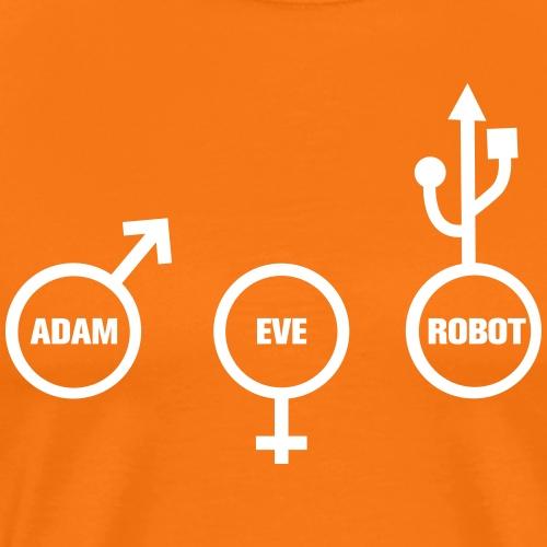 ROBOT NERD - T-shirt Premium Homme