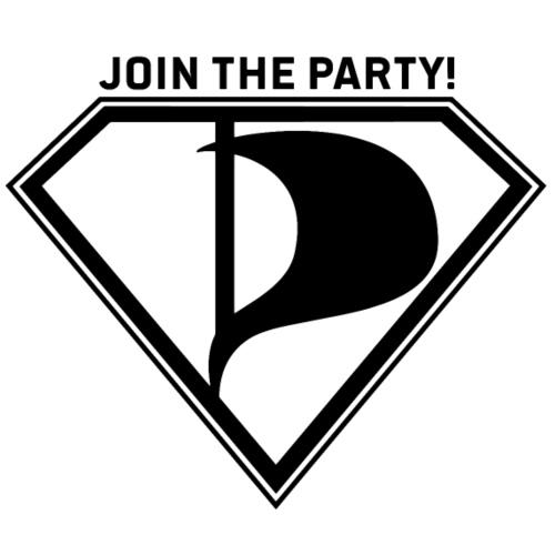 Join the party! - Miesten premium t-paita