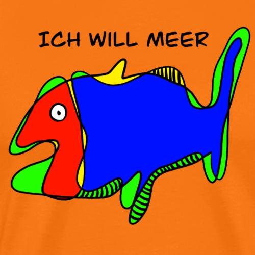 ich will Meer - Männer Premium T-Shirt