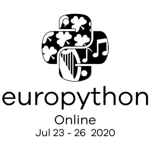 EuroPython 2020 - Vertical Black Logo - Men's Premium T-Shirt