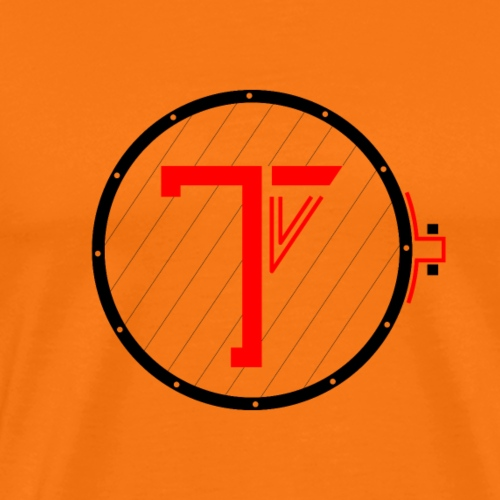 Trommekorps TV Logo Black - Herre premium T-shirt