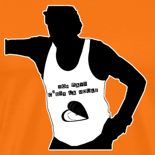 MON PAYS C'EST LA MOULE - Jeux de Mots - T-shirt Premium Homme
