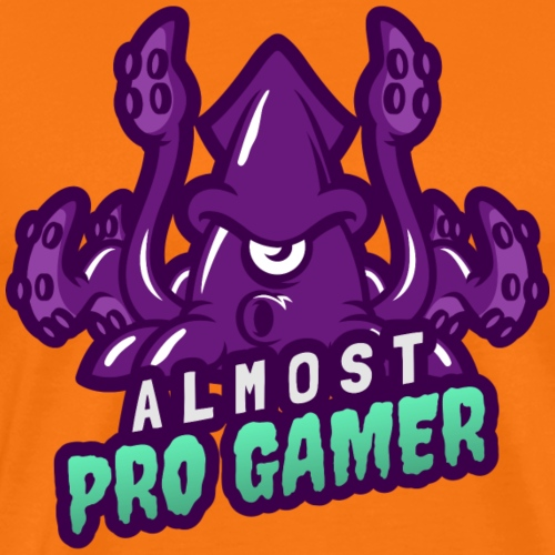 Almost pro gamer PURPLE - Maglietta Premium da uomo