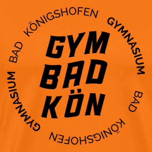 Geschwungenes Bad KÖN - Männer Premium T-Shirt