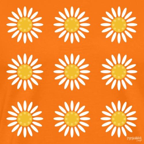 Just daisies - Miesten premium t-paita