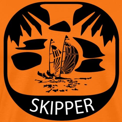 Erorxshirts sailing skipper 1 - Männer Premium T-Shirt