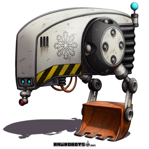 The P.A.T.H. Robot! - Herre premium T-shirt