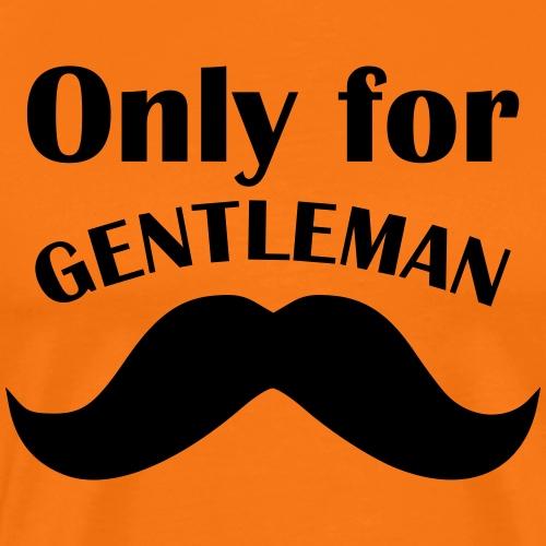 Gentleman T Shirt Junggesellenabschied 1 - Männer Premium T-Shirt