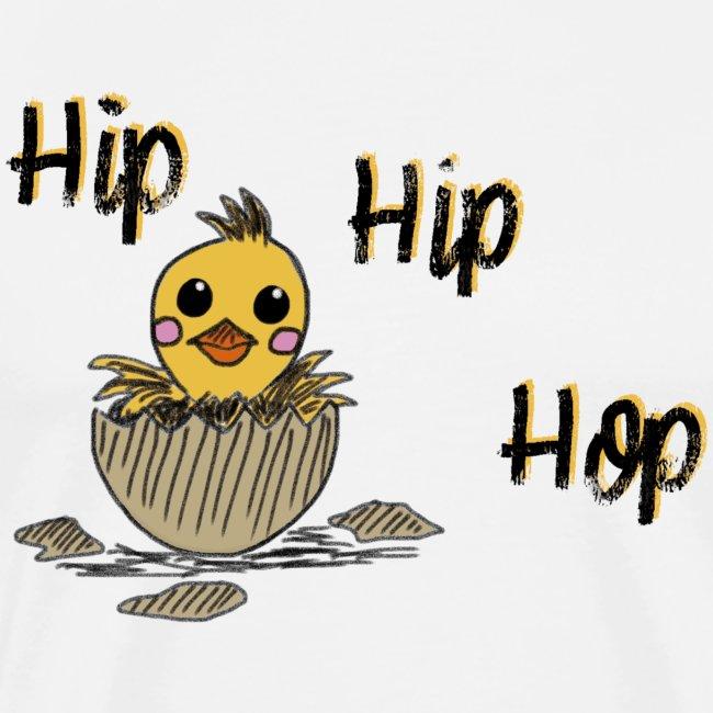 Küken Hip Hip Hop Ostern