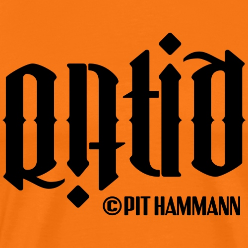 Ambigramm Ratio 01 Pit Hammann - Männer Premium T-Shirt