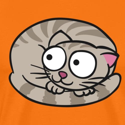 Cat Cartoon - Men's Premium T-Shirt