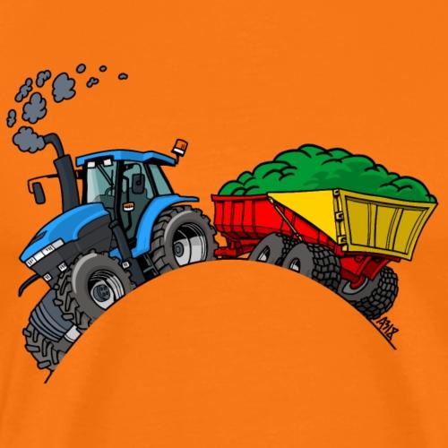 NewHolland 8670 KAR - Mannen Premium T-shirt