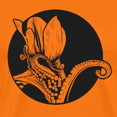 Flores y Tentaculos - Camiseta premium hombre