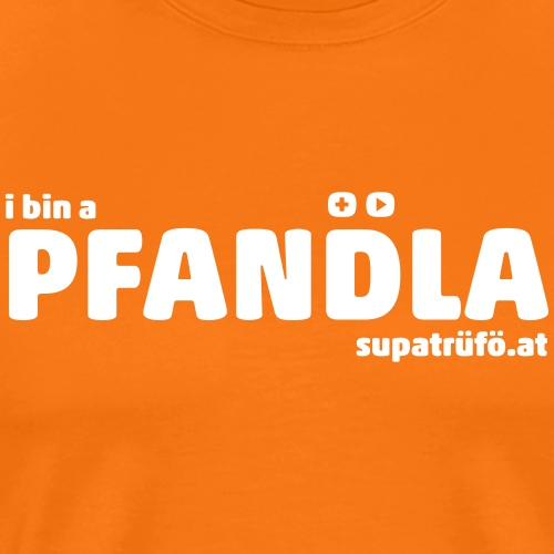SUPATRÜFÖ PFANDLA - Männer Premium T-Shirt