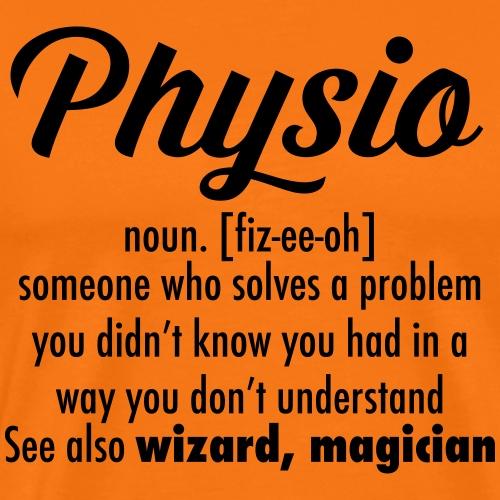 physio definition - Men's Premium T-Shirt