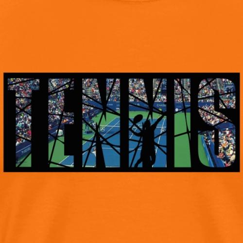 Tennis Tennisspieler tennisvereine Tennisclub - Männer Premium T-Shirt