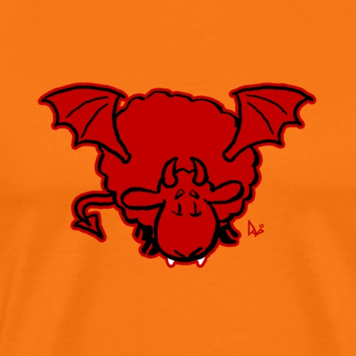 Devil Sheep - Herre premium T-shirt
